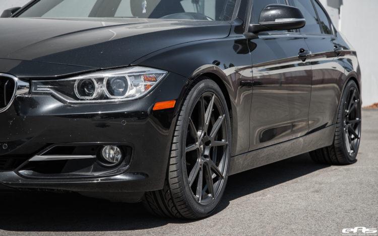 Black Sapphire Metallic BMW 328i Gets Vorsteiner V FF 106 Wheels 12 750x469