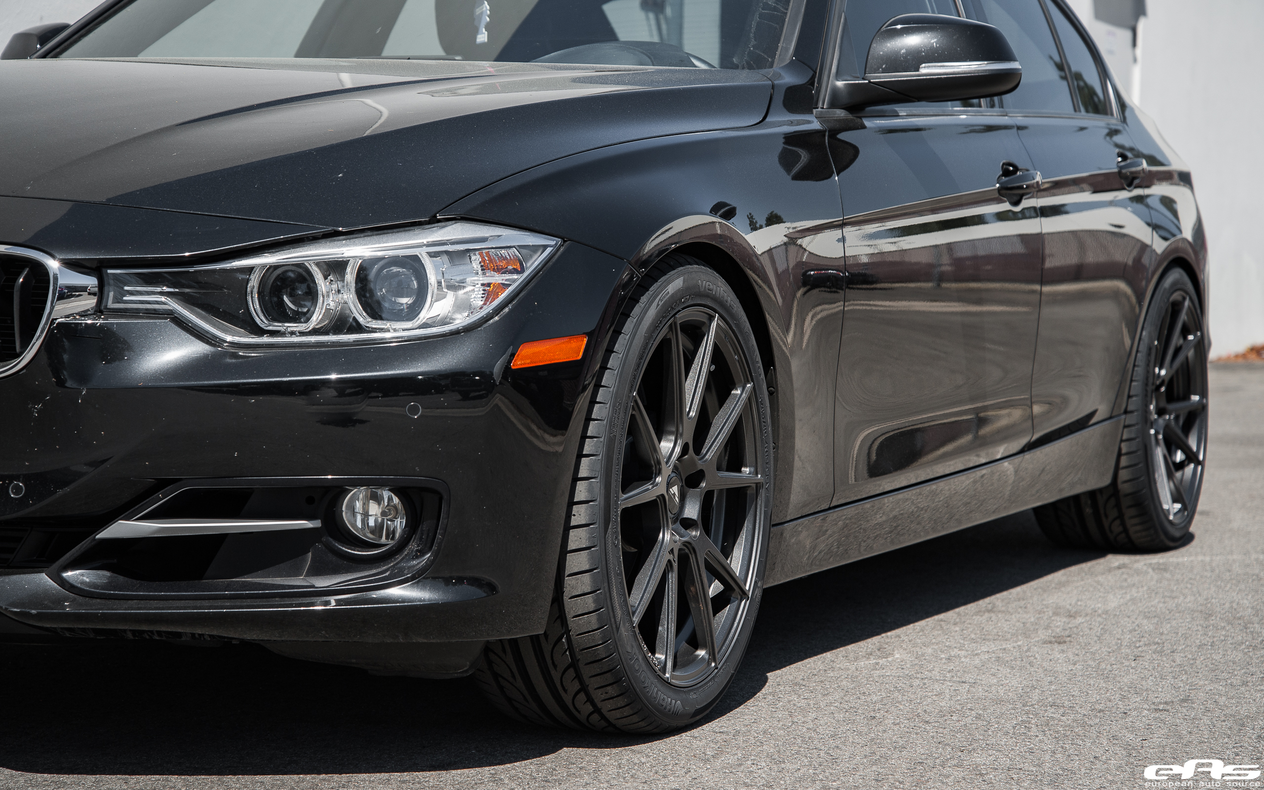 Black Sapphire Metallic Bmw 328i Gets Vorsteiner V Ff 106 Wheels