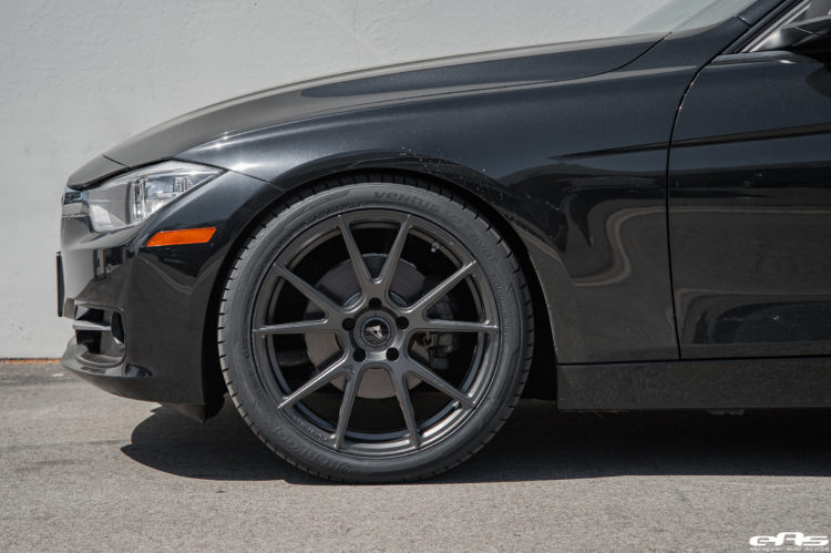 Black Sapphire Metallic BMW 328i Gets Vorsteiner V FF 106 Wheels 7 750x499