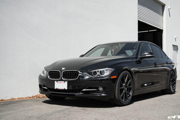 Black Sapphire Metallic BMW 328i Gets Vorsteiner V-FF 106 Wheels