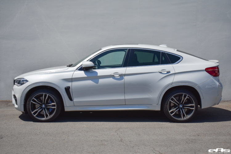 Mineral White BMW X6 M With Cosmetic Touches Image 15 750x500