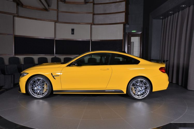 Speed Yellow BMW M4 Competition Individual Tuning Abu Dhabi 04 750x500