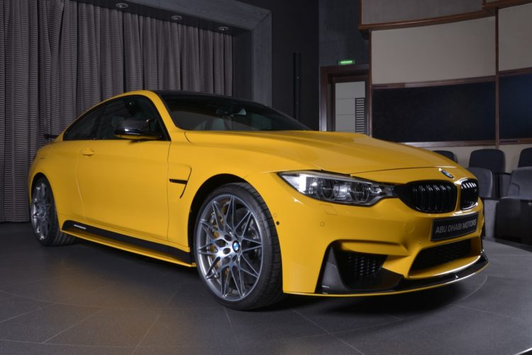 Speed Yellow BMW M4 Competition Individual Tuning Abu Dhabi 12 750x500