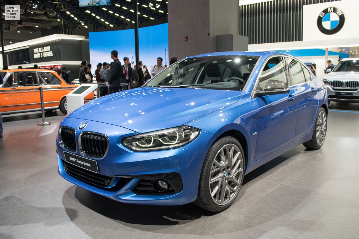Bmw 1 Series Sedan In Debuts At Shanghai Motor Show