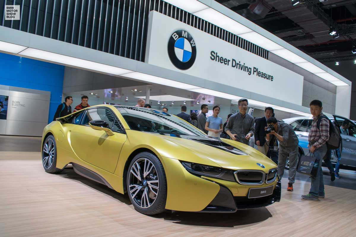 Bmw I8 Protonic Frozen Yellow Edition Live Photos From
