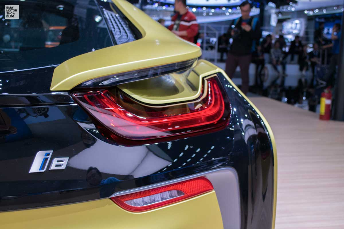 Bmw I8 Protonic Frozen Yellow Edition Live Photos From Shanghai