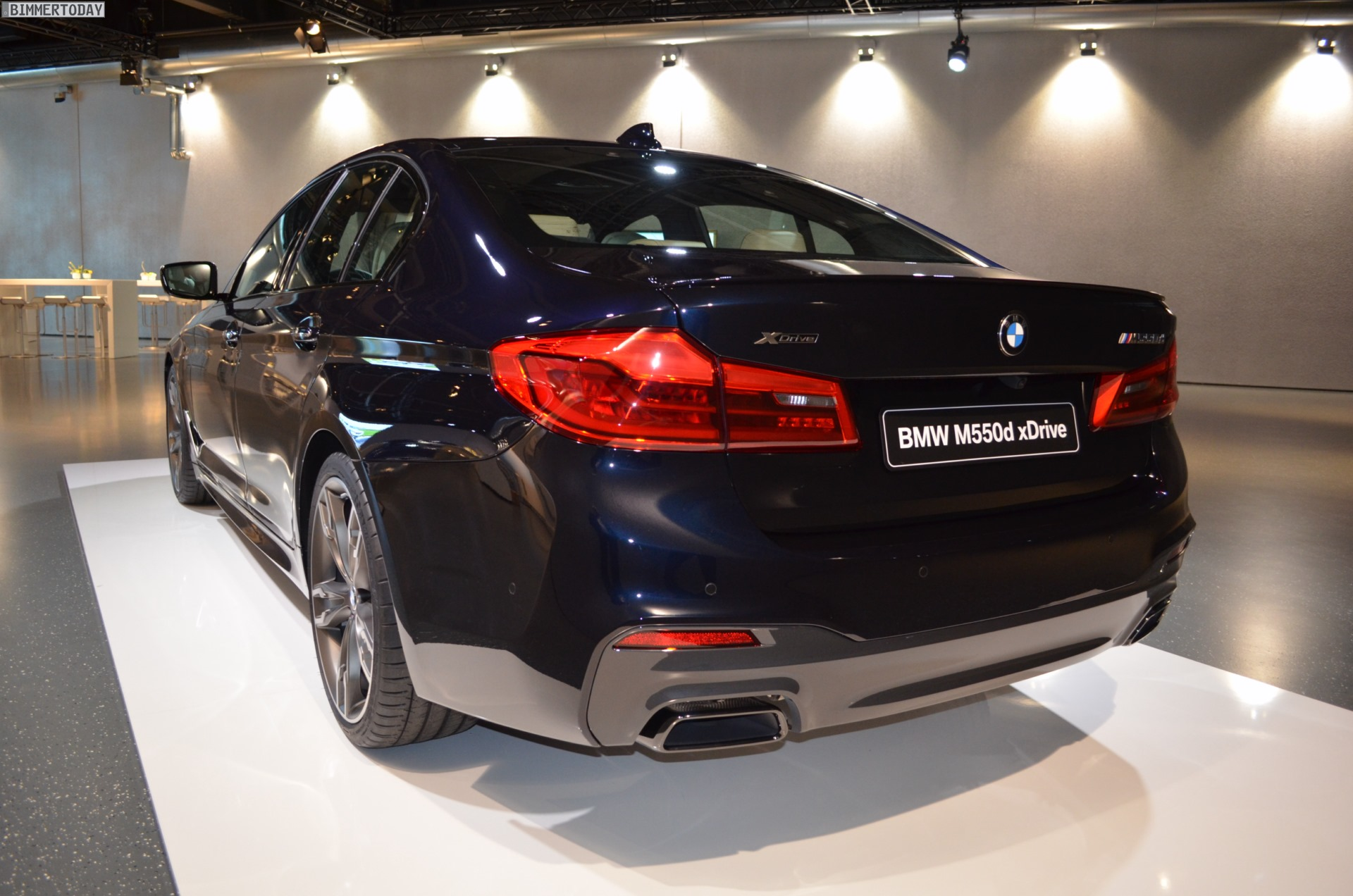 2017 BMW M550d: First pictures of the G30 with quad-turbo diesel