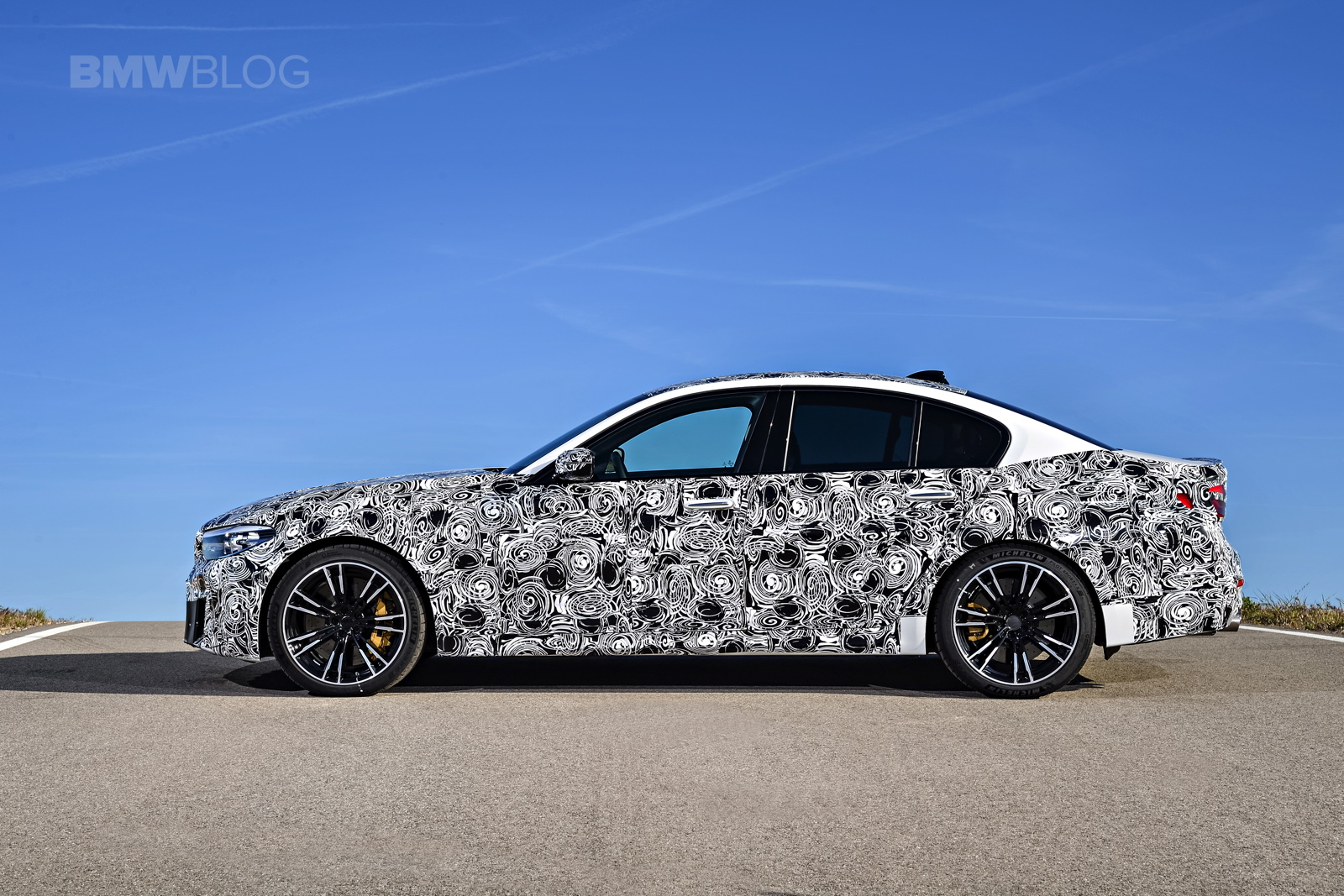 2018 BMW M5 pre production drive 08