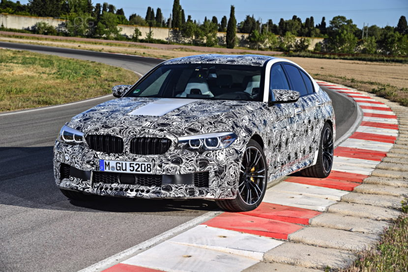 2018 BMW M5 pre production drive 12 830x554
