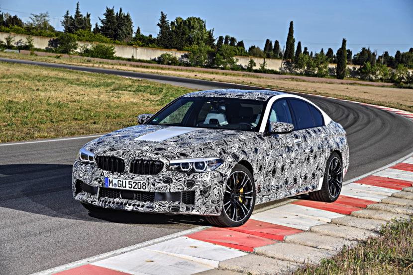 2018 BMW M5 pre production drive 13 830x554