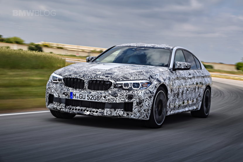 2018 BMW M5 pre production drive 15 830x553