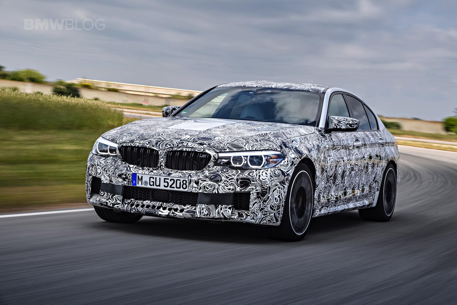 2018 BMW M5 pre production drive 15