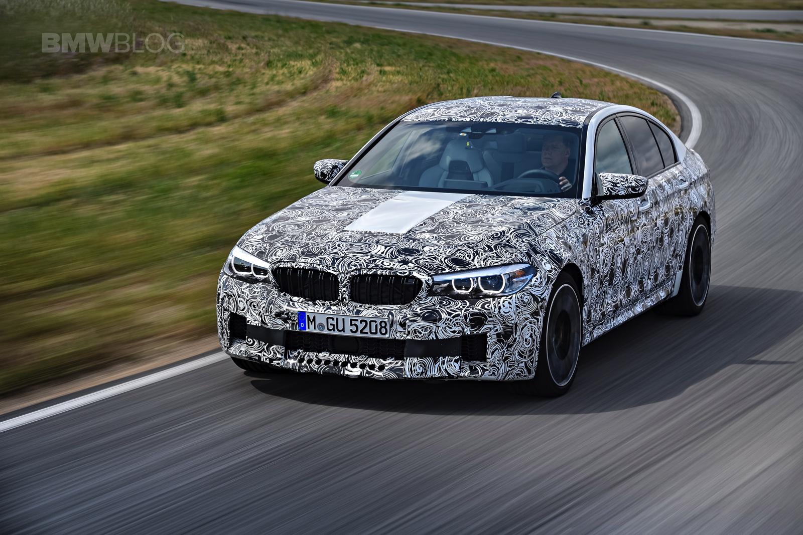 2018 BMW M5 pre production drive 24