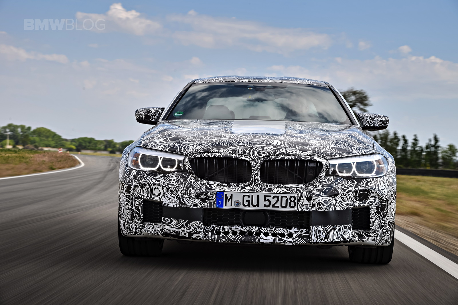 New Bmw M5 And 6 Series Gt Go To The Nurburgring