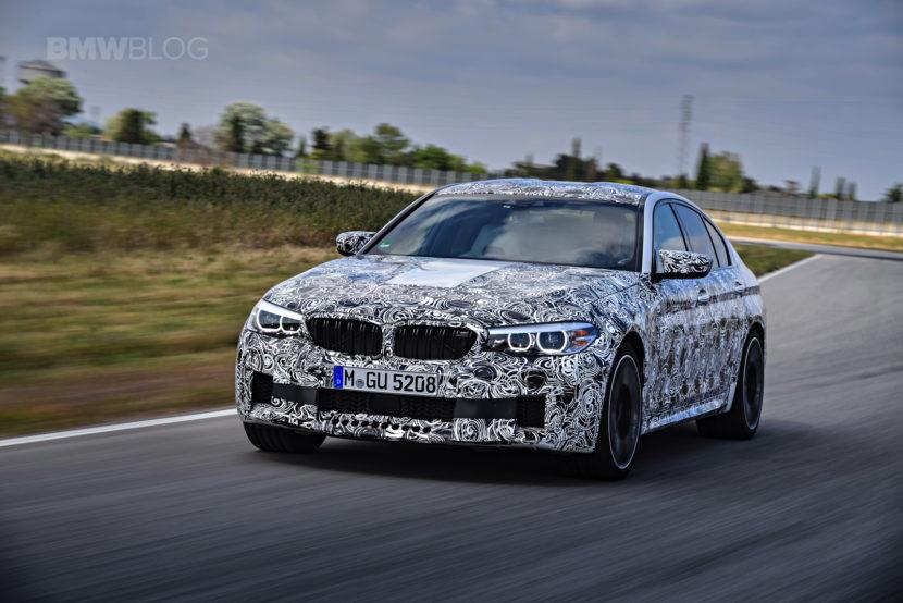 2018 BMW M5 pre production drive 31 830x554