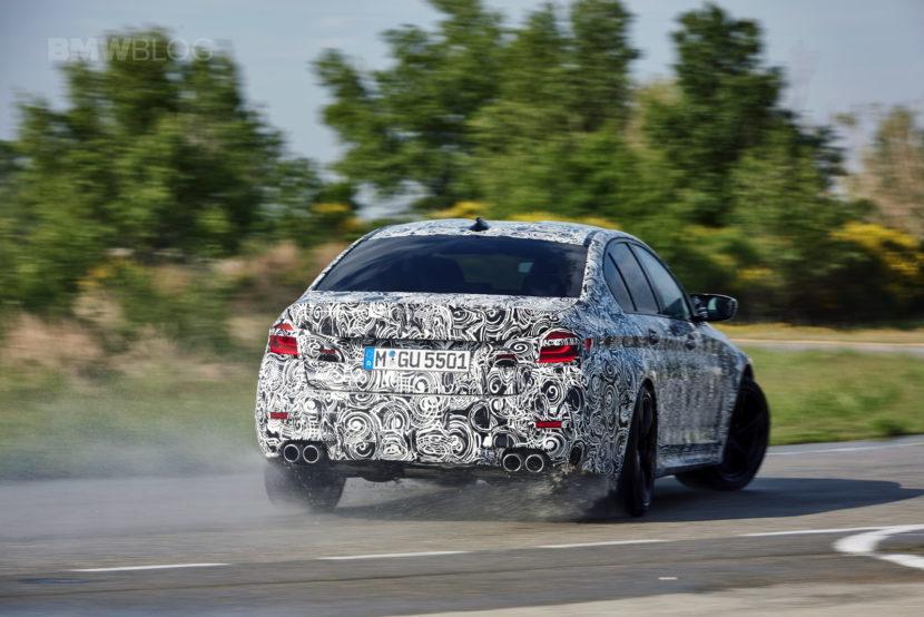 2018 BMW M5 pre production drive 36 830x554