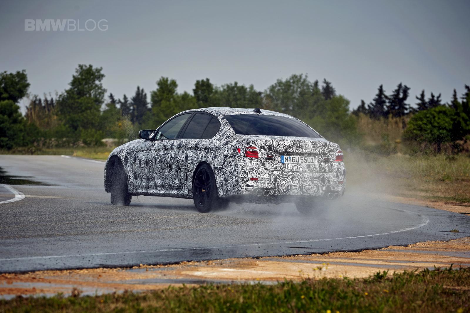 2018 BMW M5 pre production drive 40