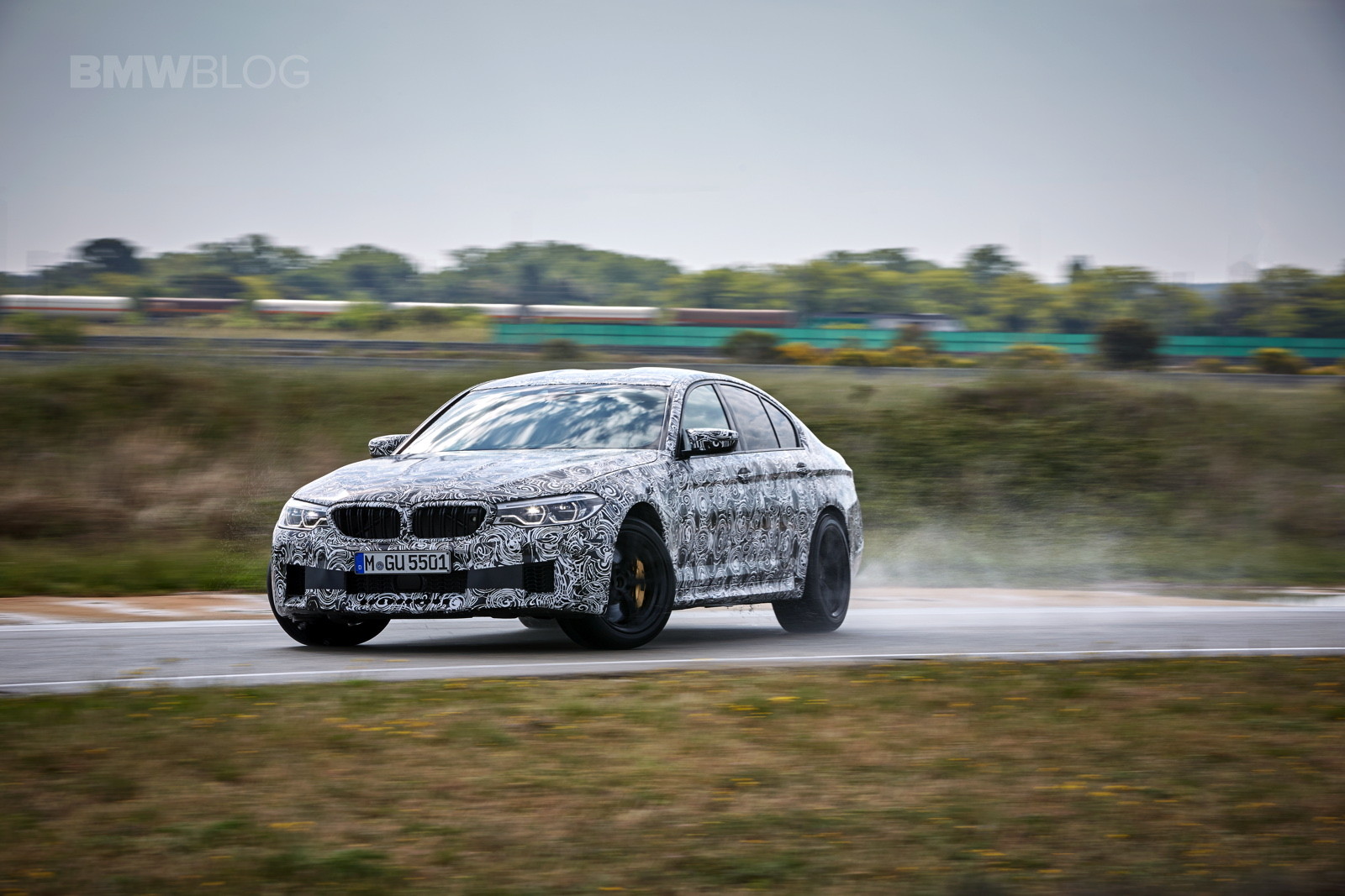 2018 BMW M5 pre production drive 42