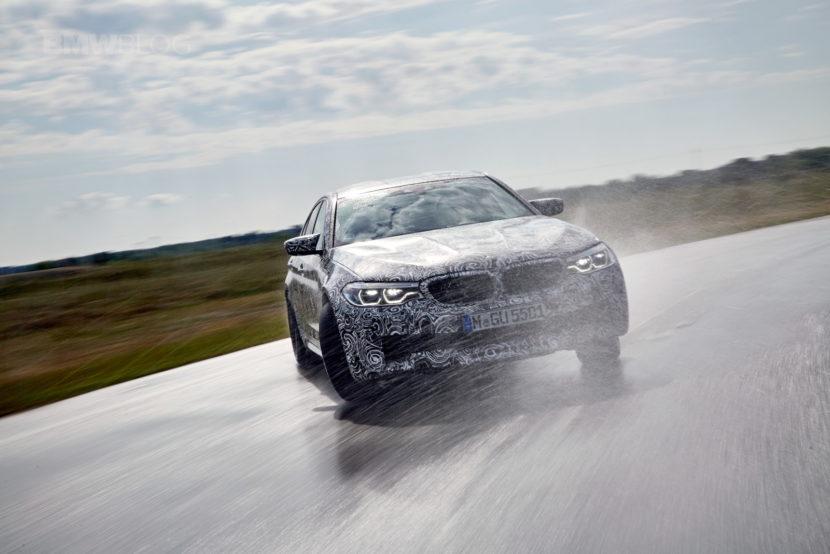 2018 BMW M5 pre production drive 47 830x554