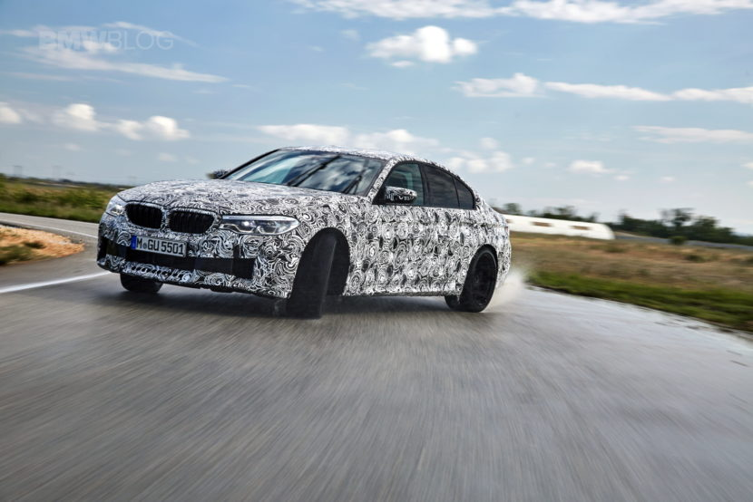 2018 BMW M5 pre production drive 50 830x554