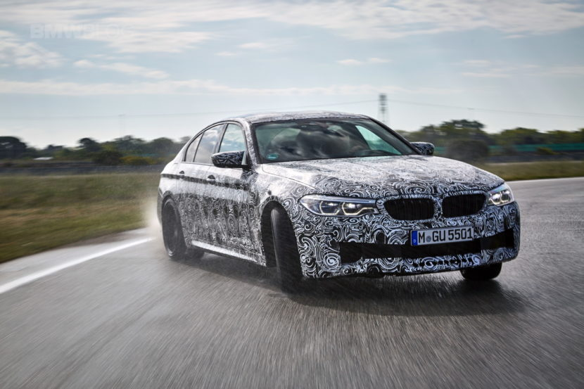 2018 BMW M5 pre production drive 53 830x553