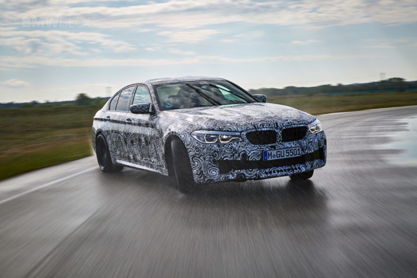 2018 BMW M5 pre production drive 54 830x554