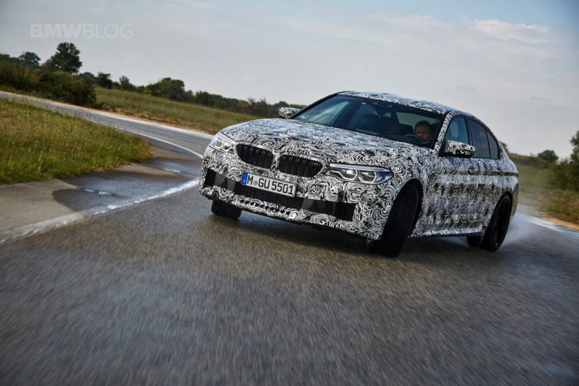 2018 BMW M5 pre production drive 56 830x554