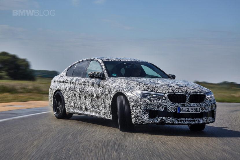 2018 BMW M5 pre production drive 59 830x554