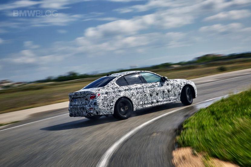 2018 BMW M5 pre production drive 61 830x554