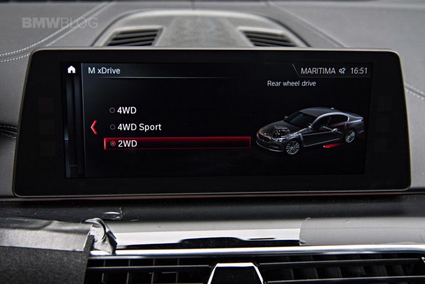 2018 BMW M5 pre production drive 66 830x554