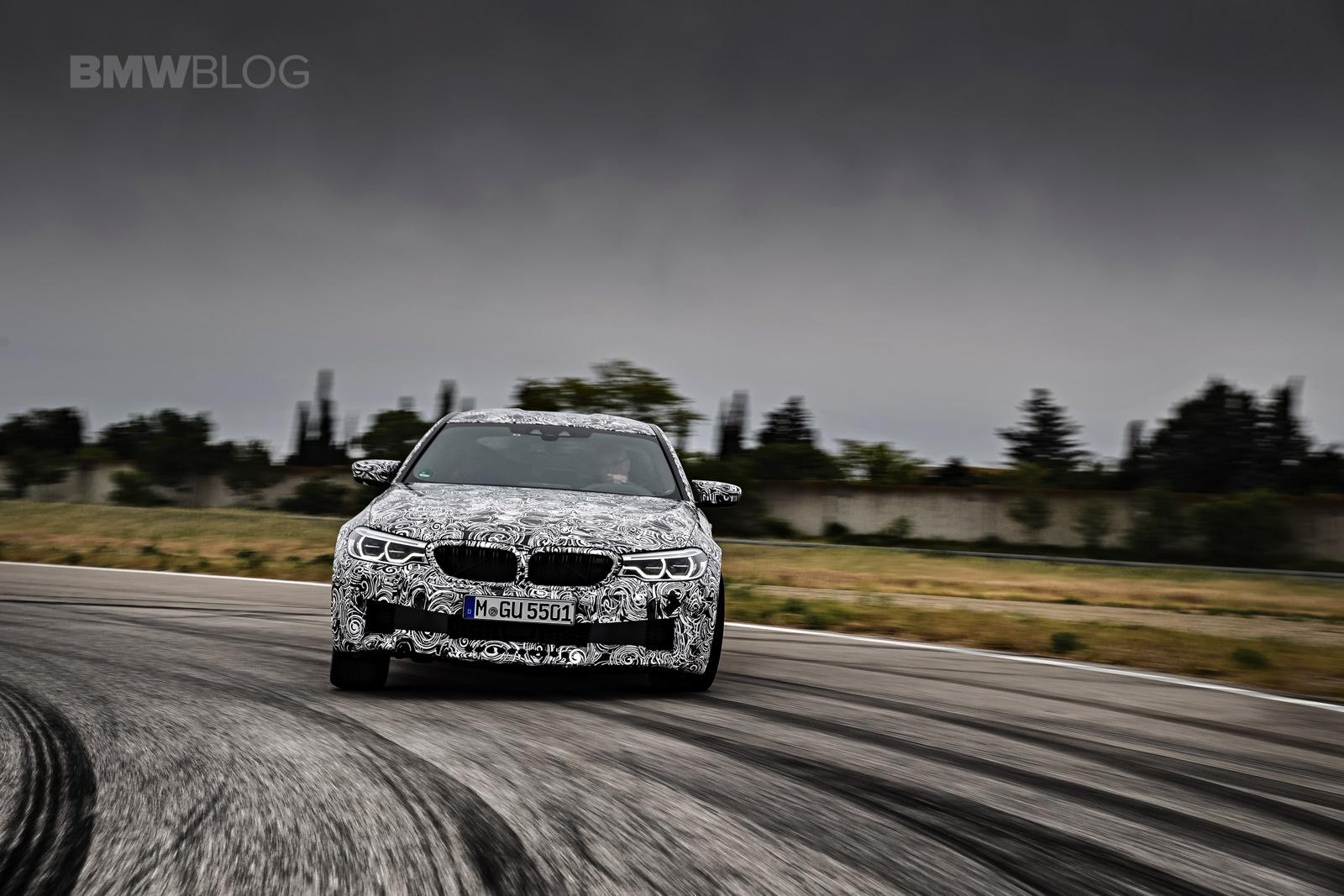 2018 BMW M5 pre production drive 67