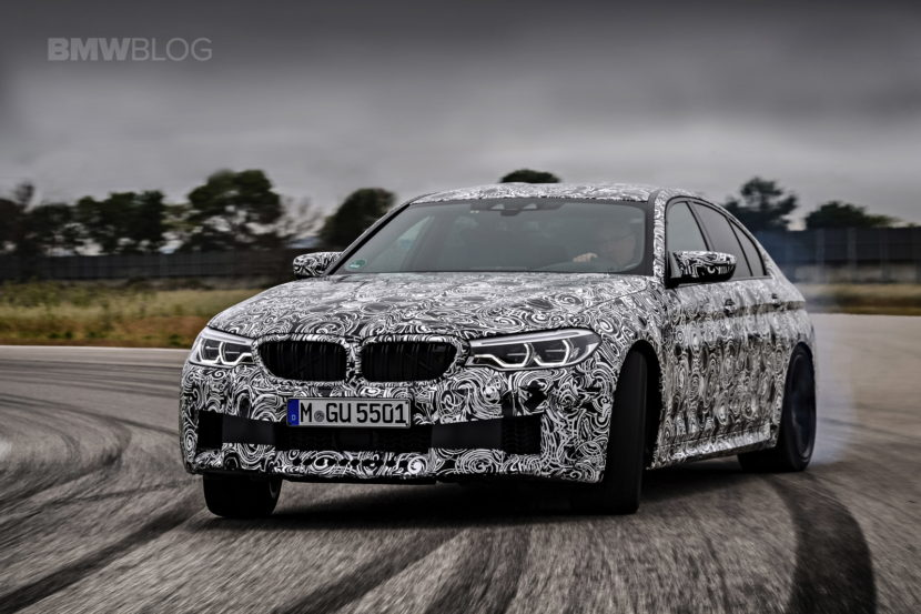 2018 Bmw M5 Pre Production Drive 69 830x553