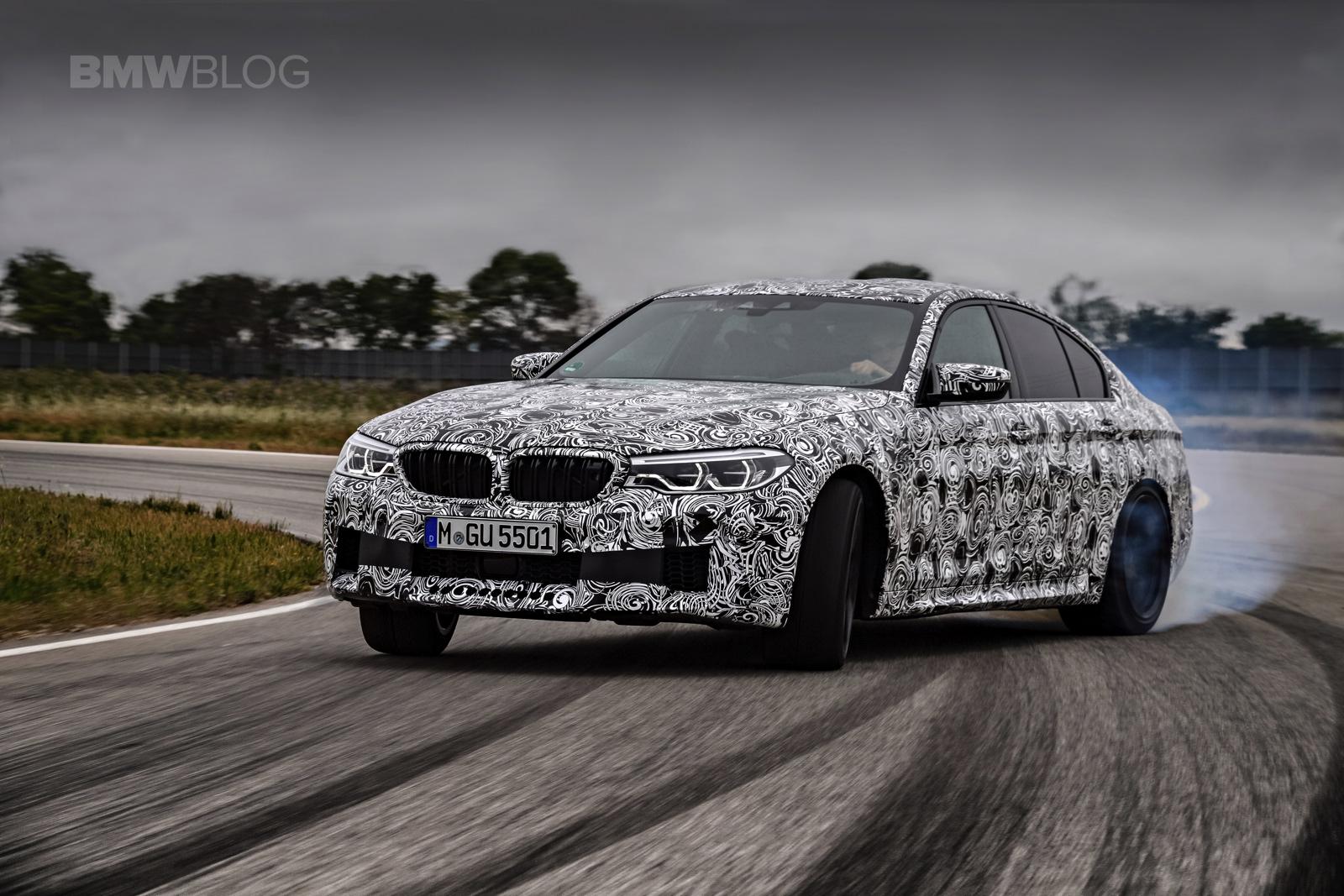 2018 BMW M5 pre production drive 71