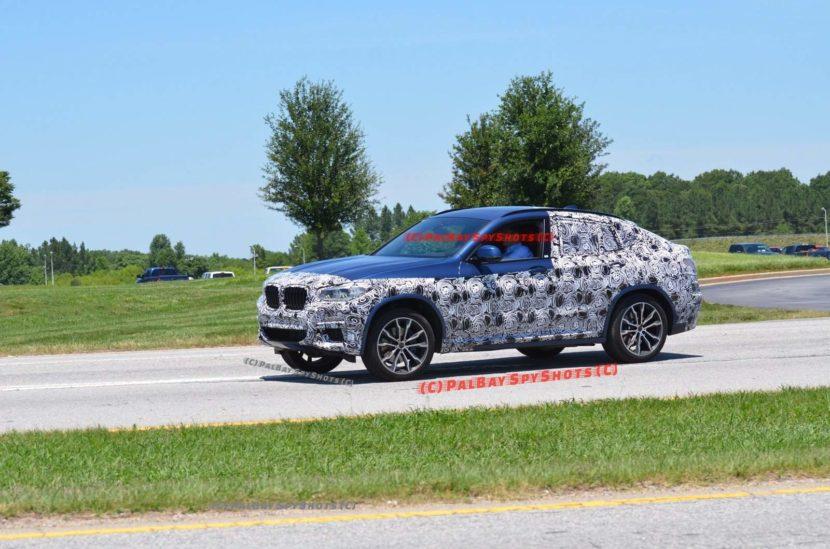 2019 BMW X4 spied 830x549