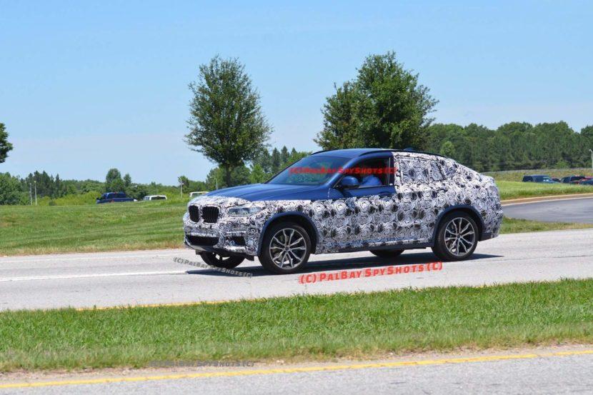 2019 BMW X4 spied 830x553