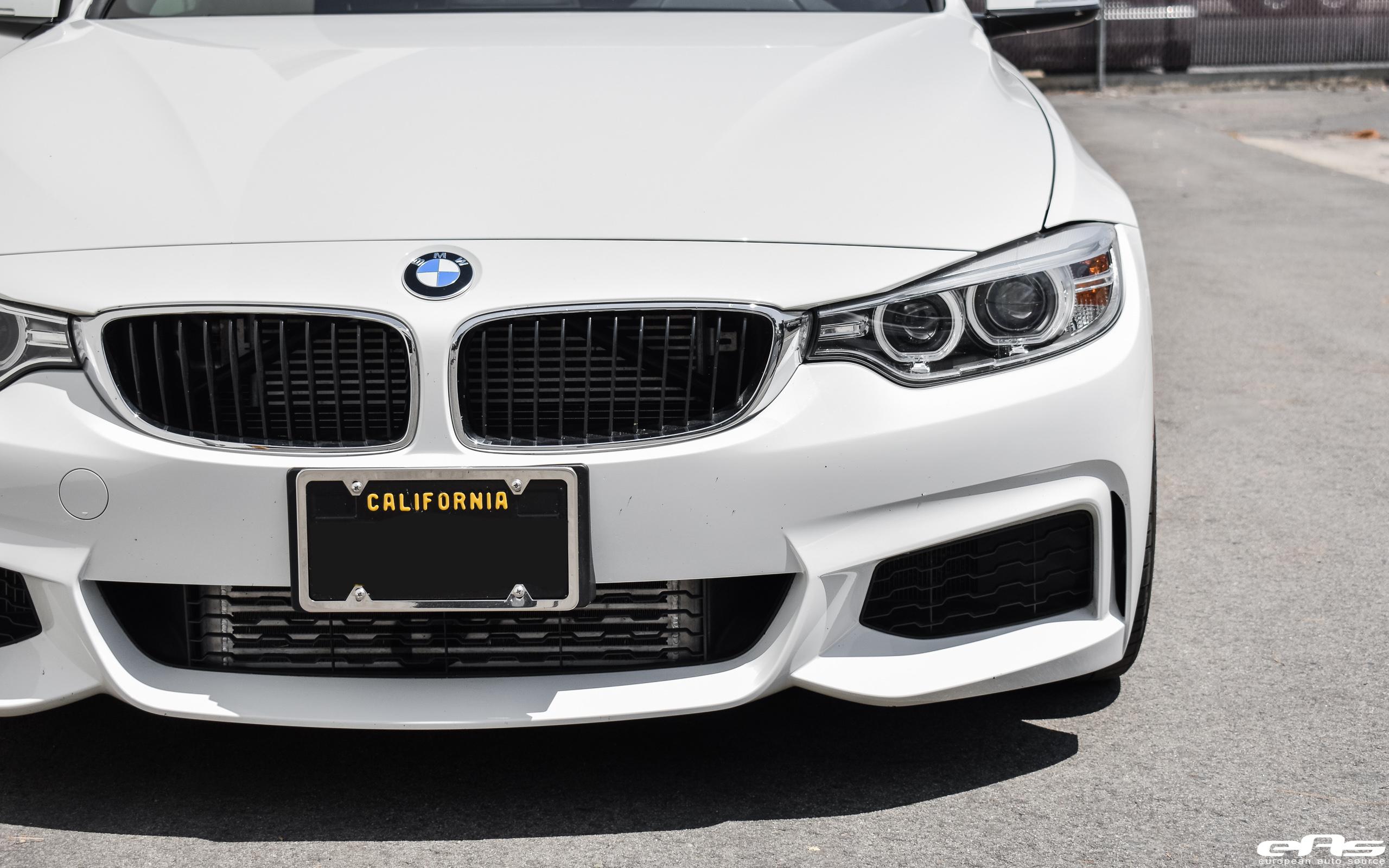 Alpine White BMW F32 435i Gets Tastefully Modded At European Auto Source 11