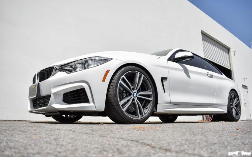 Alpine White BMW F32 435i Gets Tastefully Modded At European Auto Source 12 830x519