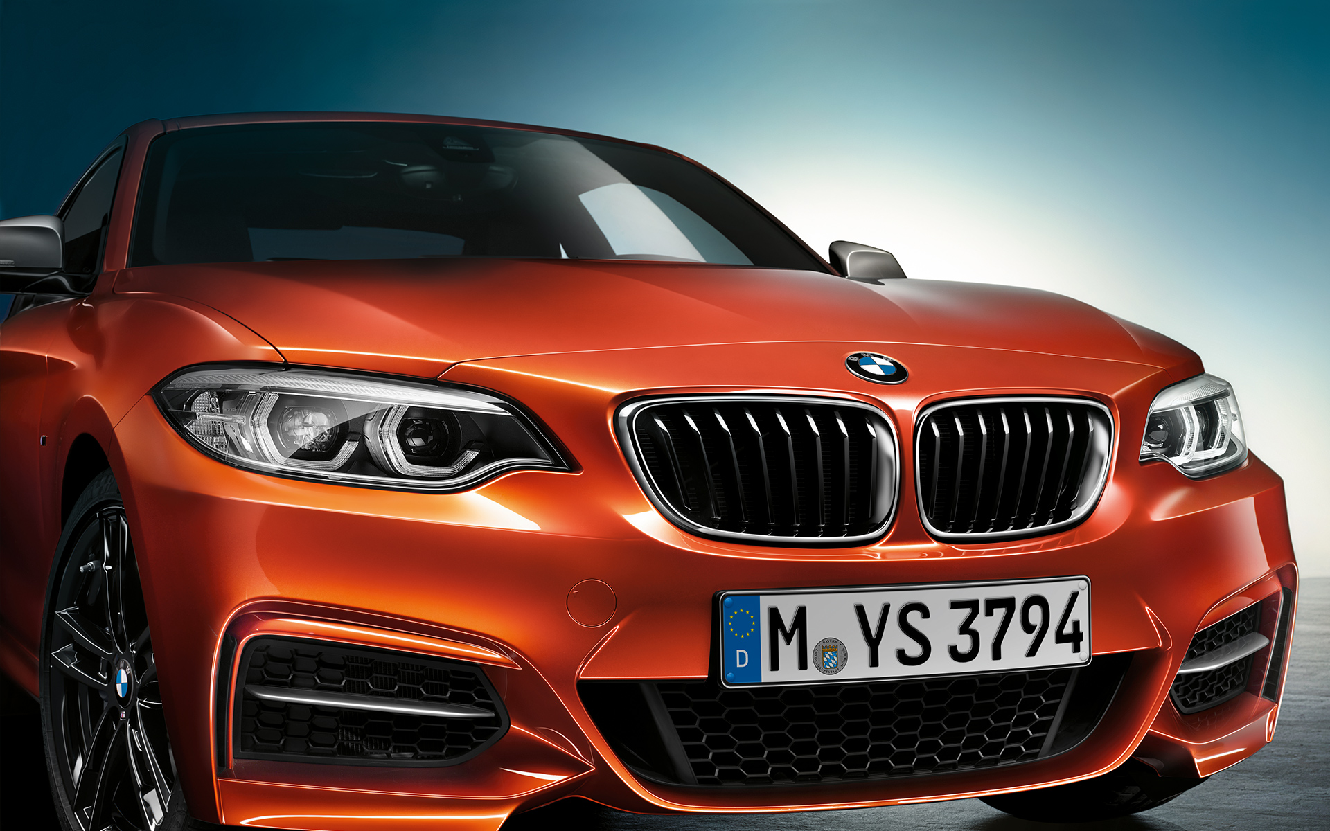 2017 BMW 2 Series Facelift - Download Wallpapers