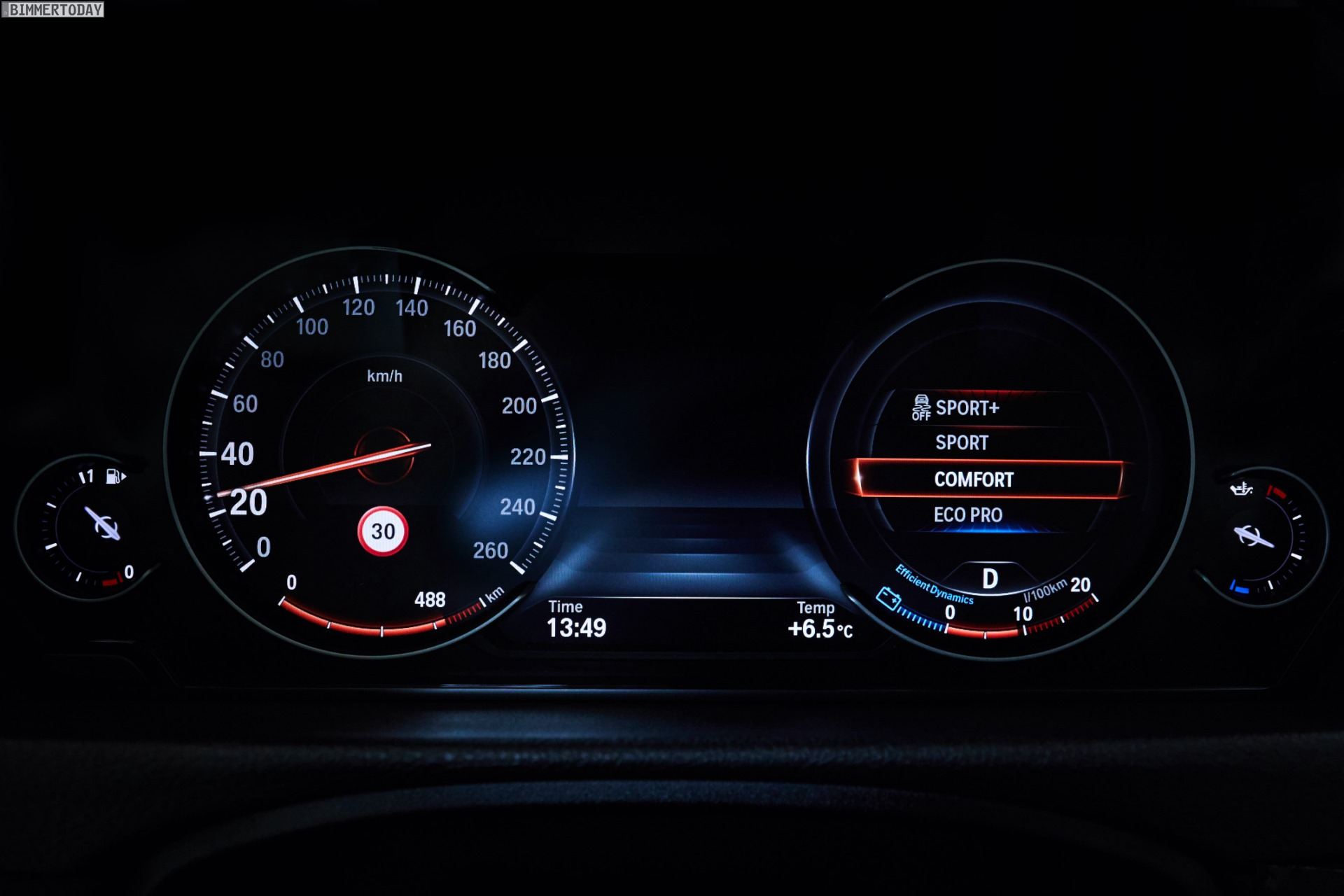 Bmw 3 Series G20 >> BMW's new Multifunction Instrument Display on new 3 Series and 4 Series is a big upgrade
