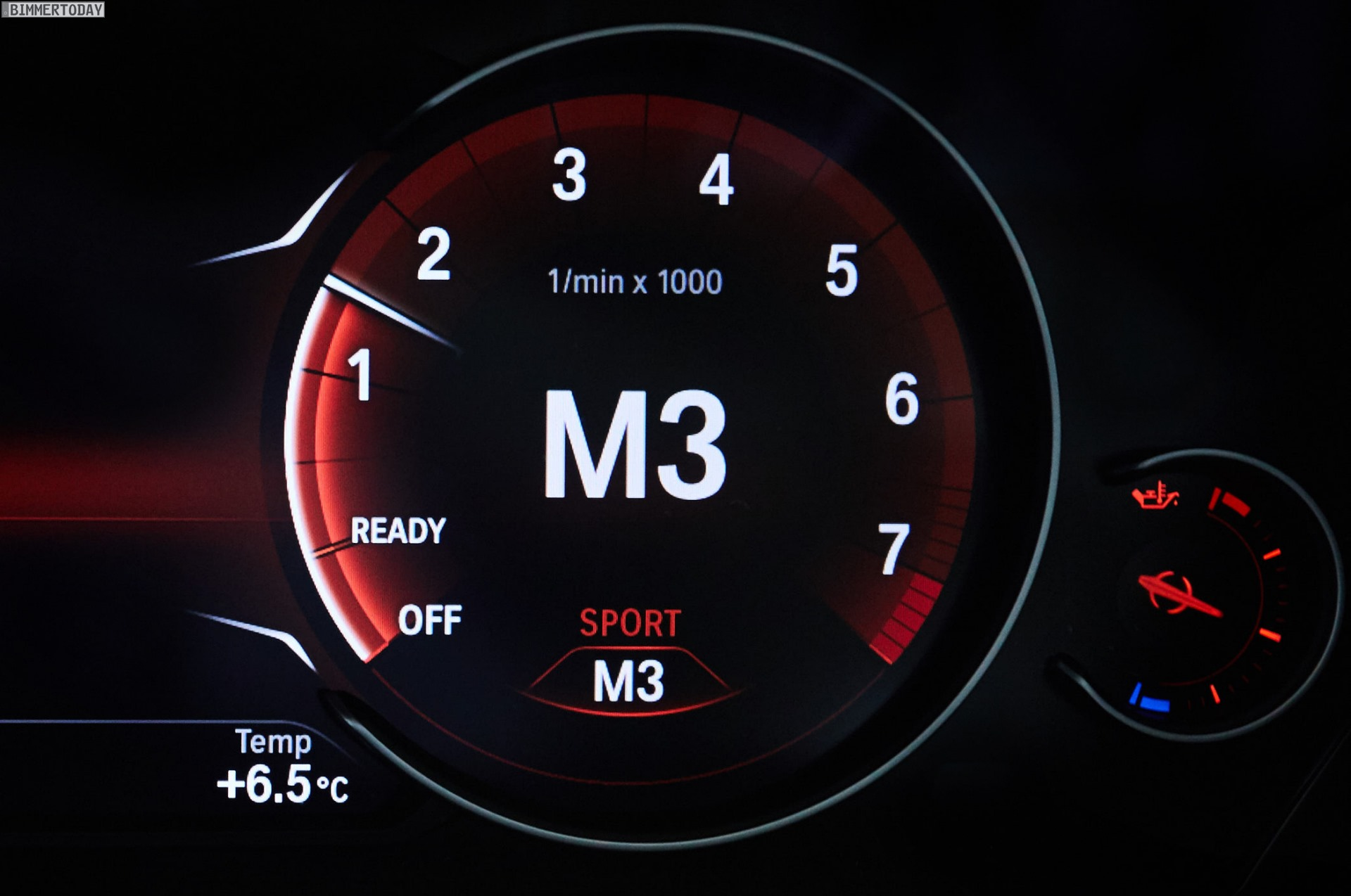 Bmw S New Multifunction Instrument Display On New 3 Series