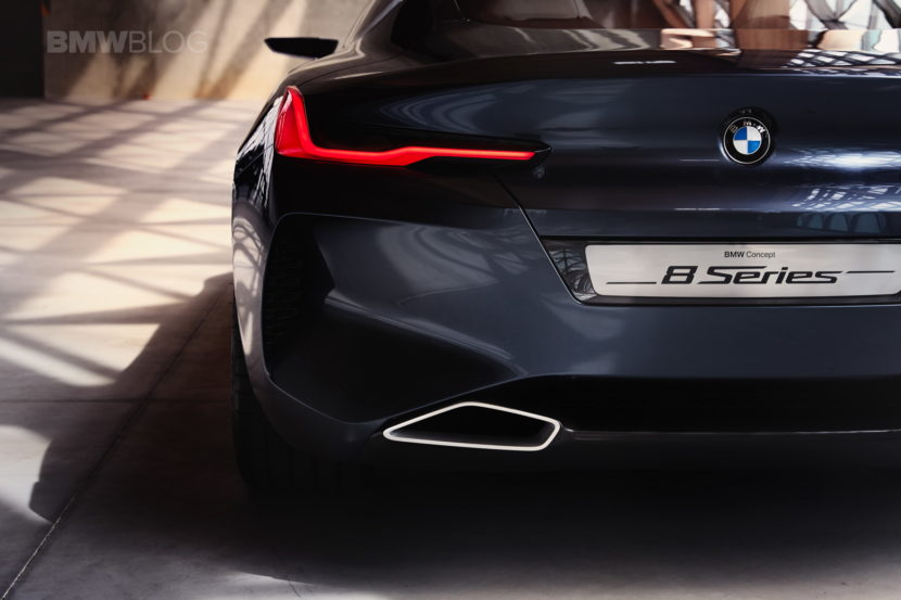 BMW 8 Concept Series images 21 830x553