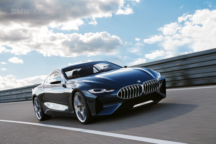 BMW 8 Concept Series photos 04 830x553