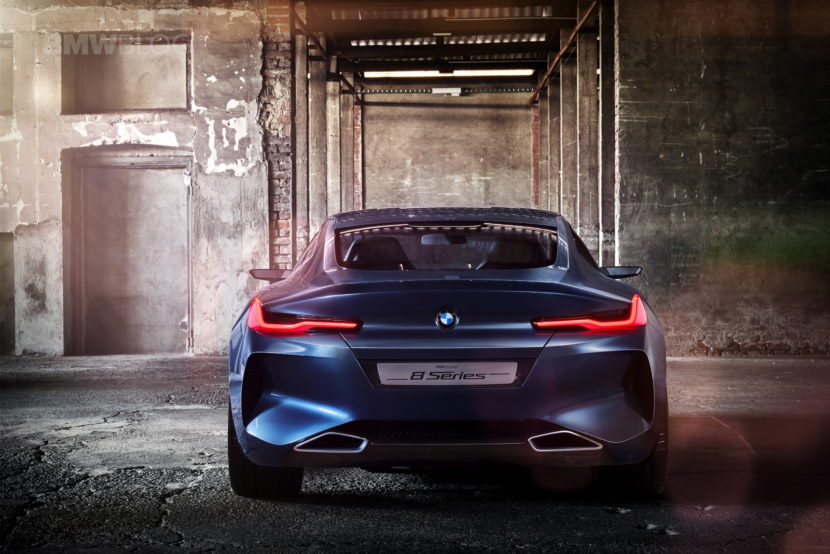 BMW 8 Concept Series photos 11 830x554