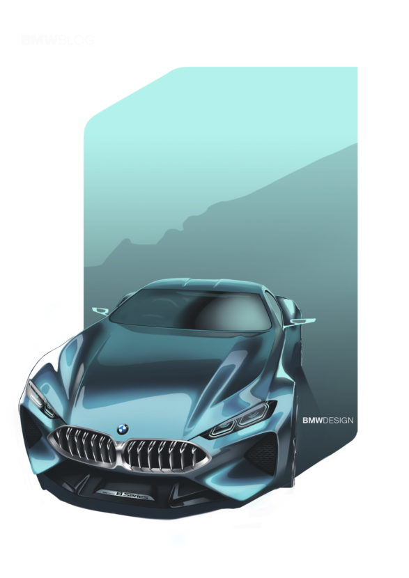 BMW 8 Concept Series photos 27 587x830
