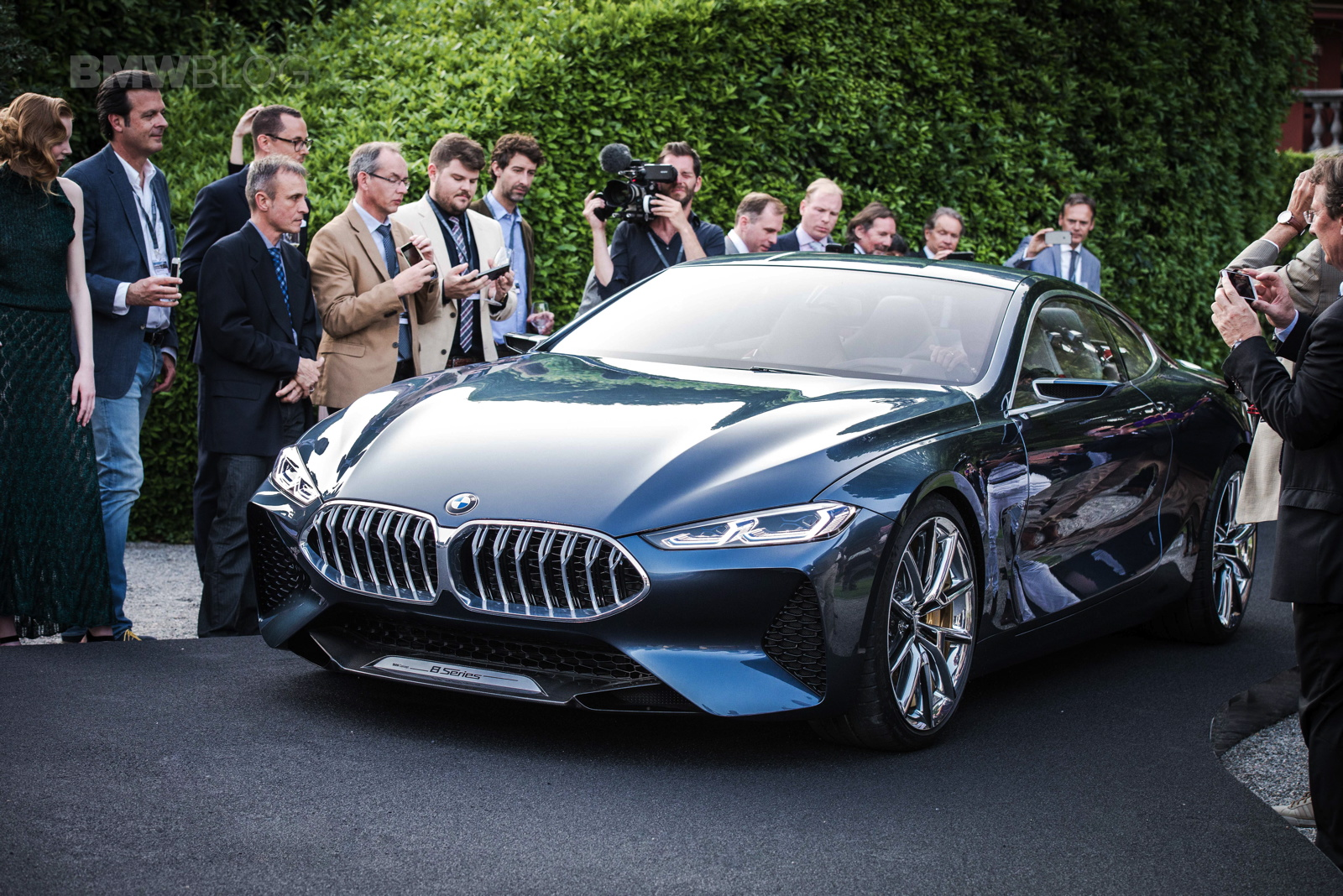 Automobile Gets A Quick Bmw 8 Series Concept Drive