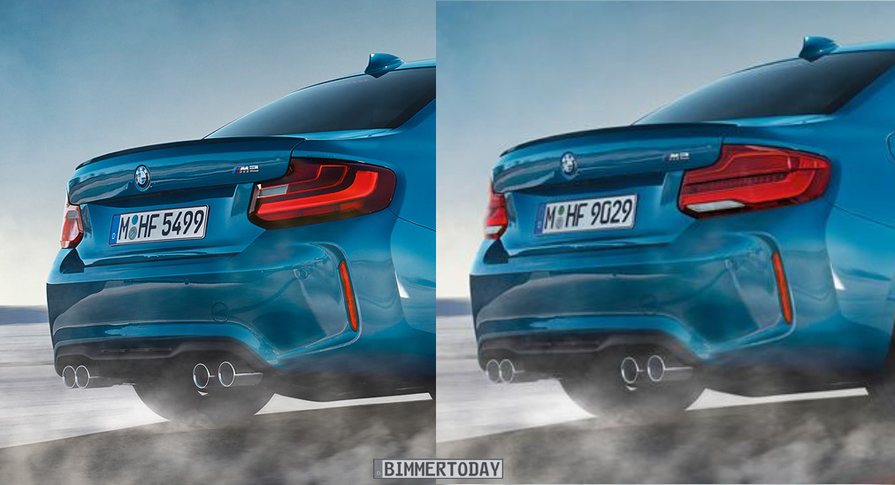 Leaked Images Of The 2017 Bmw M2 Facelift