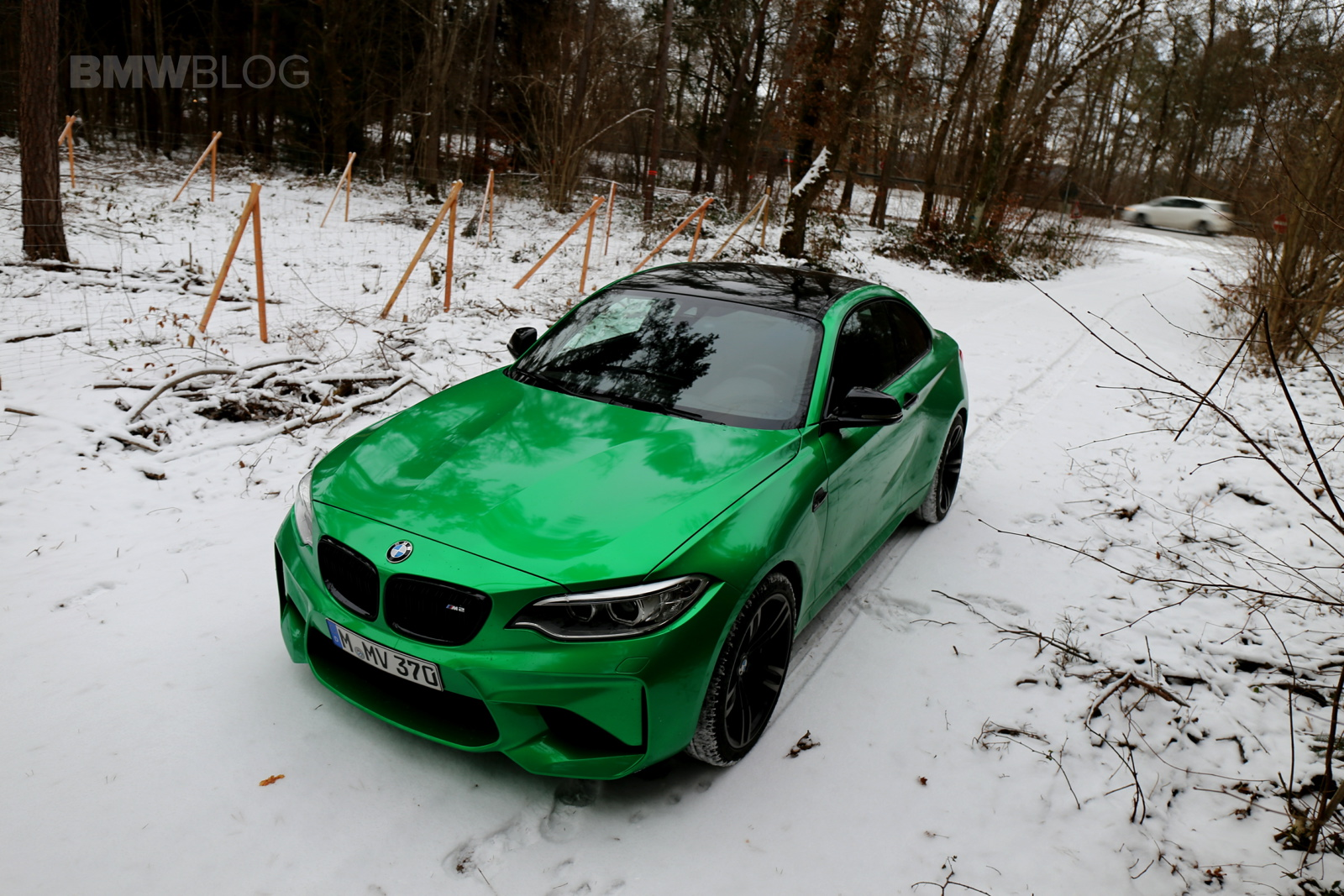 BMW M2 Java Green 01