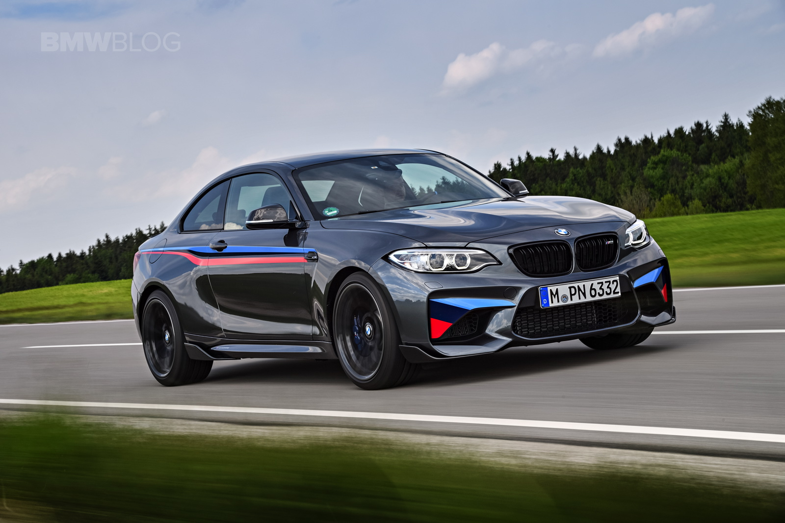 New photos of the BMW M2 with M Performance Parts