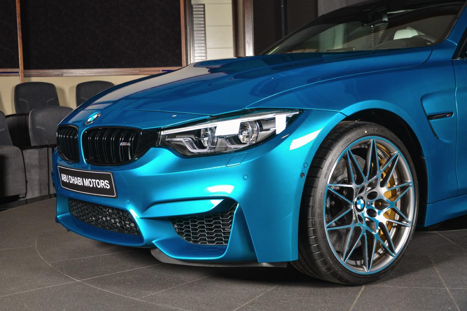 BMW M4 Atlantis Blue 18