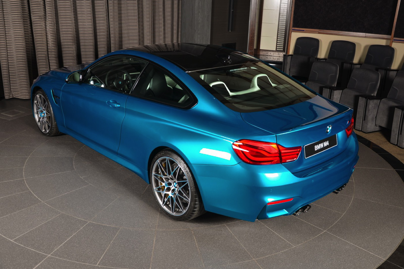 This Bmw M4 Individual Atlantis Blue Is Simply Stunning